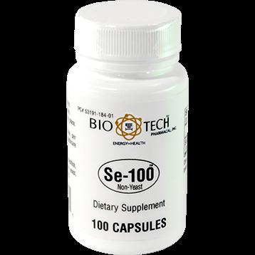 Bio Tech Se 100 Non Yeast 100 caps B09701
