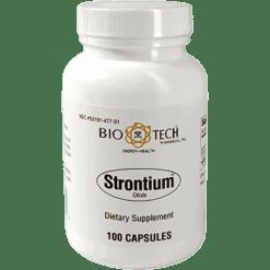 Bio Tech Strontium Citrate 300 mg 100 caps B10004
