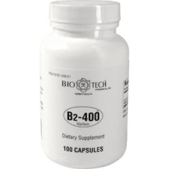Bio Tech Vitamin B2 400 100 caps VIT50