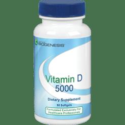 BioGenesis Vitamin D 5000 90 softgels VID18