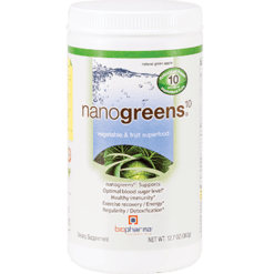 BioPharma Scientific nanogreens10 Green Apple 12.7 oz NANOG