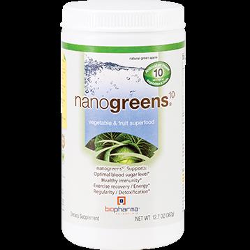 BioPharma Scientific nanogreens10 Green Apple 12.7 oz NANOG