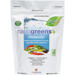 BioPharma Scientific nanogreens10Probiotic 10.6 oz B32288