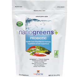 BioPharma Scientific nanogreens10probiotic Green App 30 srv B03288