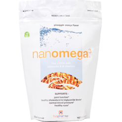 BioPharma Scientific nanomega3™ Pineapple Orange 12.7 oz NANOM