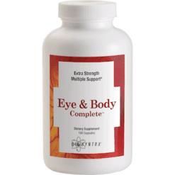 BioSyntrx Eye amp Body Complete 180 Caps MACUL