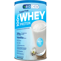 Biochem 100 Whey Sugar Free Vanilla 11.8 oz B20769