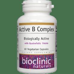 Bioclinic Naturals Active B Complex 60 vegcaps BC4240