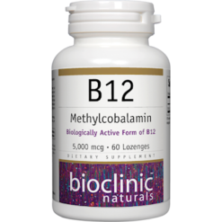 Bioclinic Naturals B12 Methylcobalamin 5000 mcg 60 loz BC9422