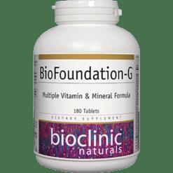 Bioclinic Naturals BioFoundation G 180 tabs B94769