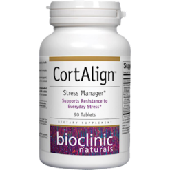 Bioclinic Naturals CortAlign Stress Manager 90 tabs BC9300