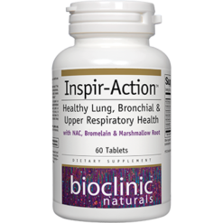 Bioclinic Naturals Inspir Action™ 60 tabs BC9604