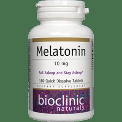 Bioclinic Naturals Melatonin 10mg 180 tabs BC9286