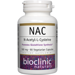 Bioclinic Naturals NAC 500mg 90 vcaps BC9524