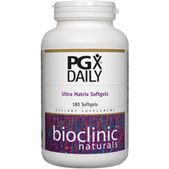 Bioclinic Naturals PGX Daily Ultra Matrix Softgels 180 gels BC9200