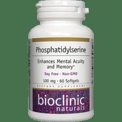 Bioclinic Naturals Phosphatidylserine 100mg 60 gels BC9273