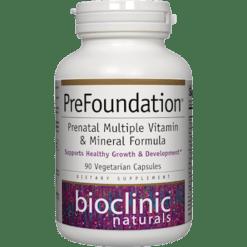 Bioclinic Naturals PreFoundation 90 veg caps B94752
