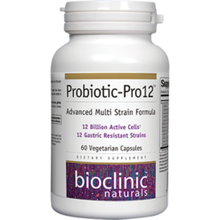 Bioclinic Naturals Probiotic Pro 12 60 vcaps B94561