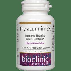 Bioclinic Naturals Theracurmin 2X 75 vegcaps BC2505