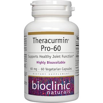 Bioclinic Naturals Theracurmin Pro 60 60 vegcaps BC9248