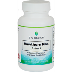 Biodesign Hawthorn Plus 120 vegcaps BD77
