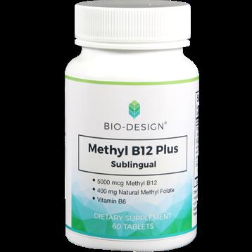 Biodesign Methyl B12 Plus 5000 mcg 60 tabs BD95