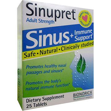 Bionorica Sinupret Adult Strength 25 tabs B16037