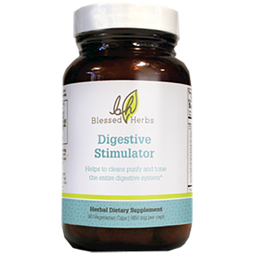 Blessed Herbs Digestive Stimulator 90 vegcaps B39122