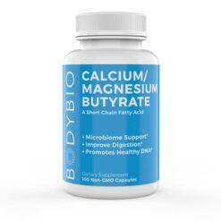 BodyBio Cal Mag Butyrate 600 mg 100 caps