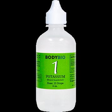 BodyBio E Lyte 1 Potassium Trace Minerals 4 oz POT10