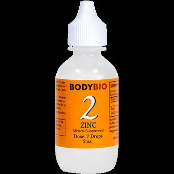 BodyBio E Lyte 2 Zinc Trace Minerals 2 oz ZIN21