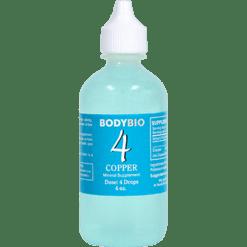 BodyBio E Lyte 4 Copper Trace Minerals 4 oz COP10