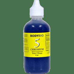 BodyBio E Lyte 5 Chromium Trace Minerals 4 oz CHR26