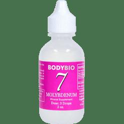 BodyBio E Lyte 7 Molybdenum Trace Minerals 2 oz MOLY4