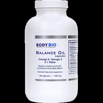 BodyBio E Lyte BodyBio Balance Oil 180 caps SP102