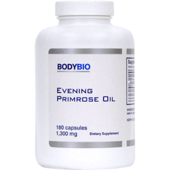 BodyBio E Lyte Evening Primrose Oil 1300 mg 180 caps EPO65