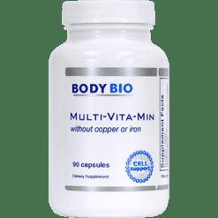 BodyBio E Lyte Multi Vita Min w o Copper or Iron 90 cap SP805