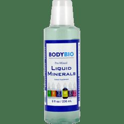 BodyBio E Lyte Pre Mixed Liquid Minerals 8 oz TRAC8