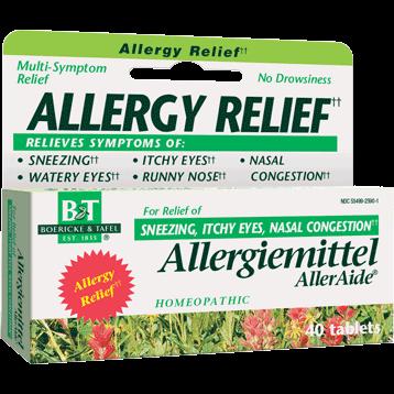 Boericke amp Tafel Allergiemittel AllerAide 40 tabs ALL17