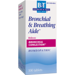 Boericke amp Tafel Bronchial amp Breathing Aide 100 tabs BRON2