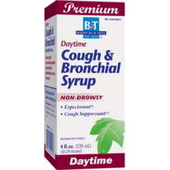 Boericke amp Tafel Cough amp Bronchial Syrup 4 oz COU10