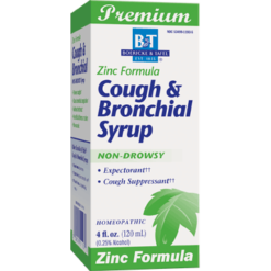Boericke amp Tafel Cough amp Bronchial Syrup with Zinc 4 fl oz COU16
