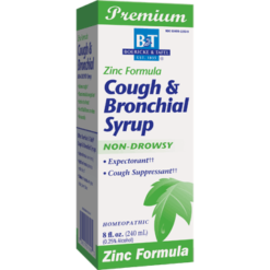 Boericke amp Tafel Cough amp Bronchial Syrup with Zinc 8 oz COU14
