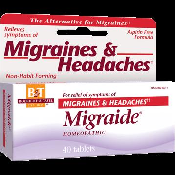 Boericke amp Tafel Mirgraide 40 tablets MIGR9