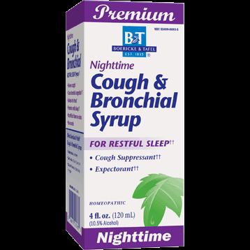 Boericke amp Tafel Nighttime Cough amp Bronchial Syrup 4 oz NIGH5