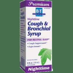 Boericke amp Tafel Nighttime Cough amp Bronchial Syrup 8 oz NIGH6
