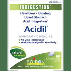 Boiron Acidil™ 60 tabs ACI20