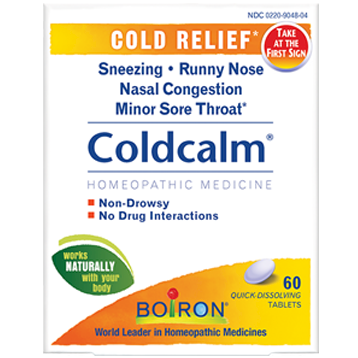 Boiron Coldcalm® 60 tabs COLD9