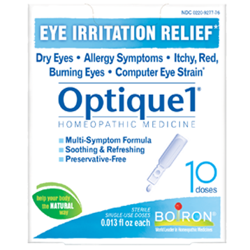 Boiron Optique 1® Eye Drops 10 doses OPT15