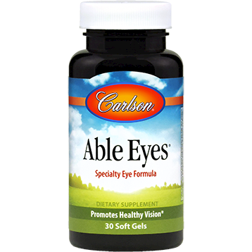 Carlson Labs Able Eyes 30 gels ABLE2